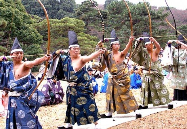 Arcieri giapponesi