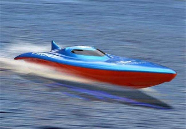 Barca super veloce