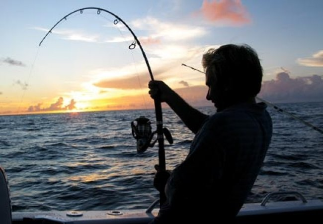 Pescare con canna